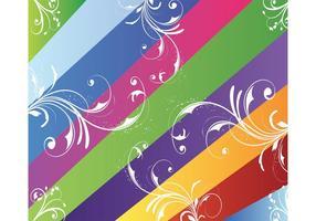 Líneas de colores Vector