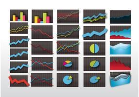Gráficos de mercado de ações
