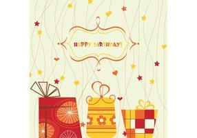 Feliz cumpleaños Vector Art