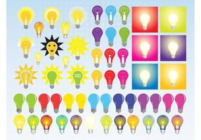 Light Bulb Vectors