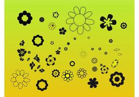 Clip Art de Flower Elements