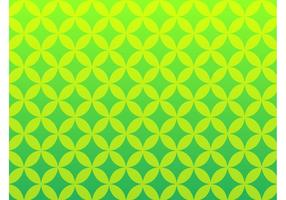 Groen Retro Patroon