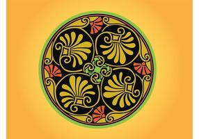 Round Greek Ornament