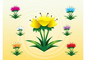 Tulips Vectors