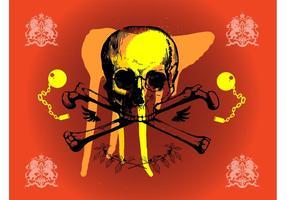 Grunge Skull Graphics