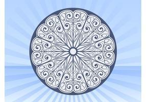 Vector de círculo azul