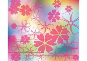 Rosa blommor bakgrund