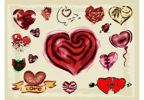 Hearts Illustrations