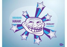 Trolling-Vektor