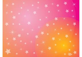Pink Stars Background