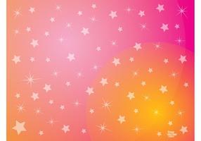 Pink Stars Background