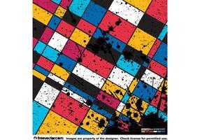 Fond géométrique grunge