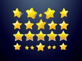 Sterne Vektoren