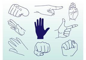 Hands Vektoren