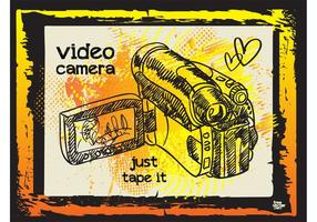Video Camera Illustratie