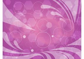 Abstract Purple Geometric Graphics