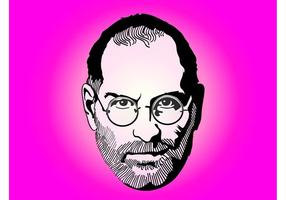 steve jobs portrait