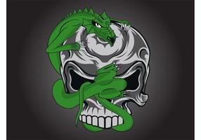 Skull Dragon Graphic