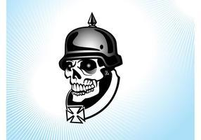 Deutscher Soldat Schädel