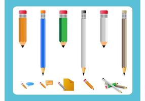 Pencil Vector Pack
