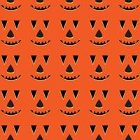 Halloween Vector Pumpkin Pattern