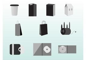 Packaging Vector Set