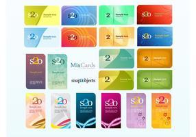 Visitenkarte Mix Pack
