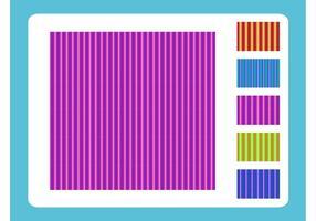 Patrones de rayas verticales