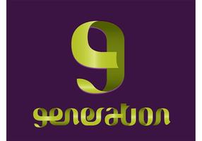 Logotipo de geração moderna