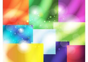 Boîtes de couleurs vectorielles