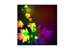 Feuille de feuilles de clair de lune
