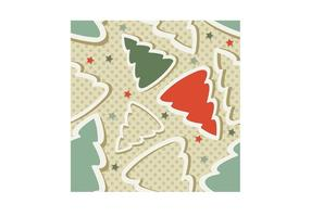 Christmas Tree Stars Pattern