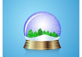 Snow Globe Bosque