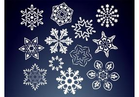 Floral Snow Flakes