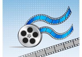 Vecteurs de bobines de film