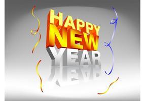 Diseño del Año Nuevo feliz