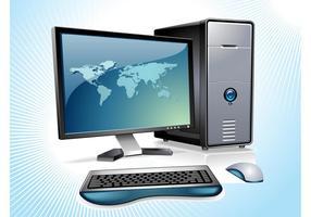 Desktop-Computer-Vektor