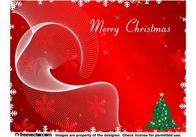 Vrolijke Kerst Achtergrond