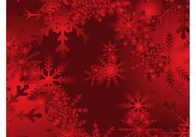 Fondo rojo de la nieve