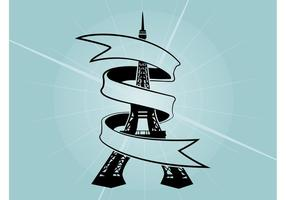 Eiffel Tower Ribbon
