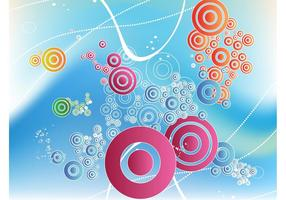 Diseño de círculos flotantes