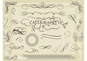 Gratis Vector Calligraphy Pack