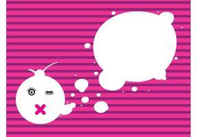 Abstrakte Gedankenblasen