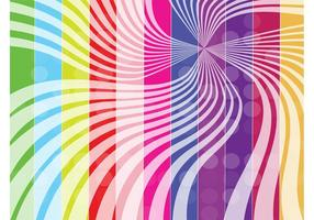 Fondo de las rayas del arco iris