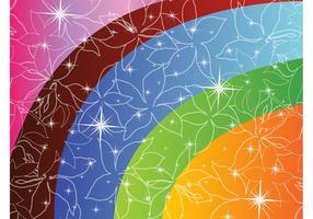 Flower Stars and Rainbows