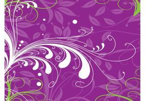 Purple Plants Background