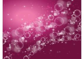 Stars Bubbles Background