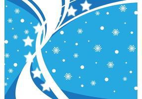 Winter Blue Background