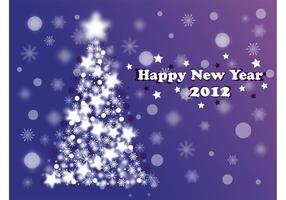 Diseño del Año Nuevo de la Navidad