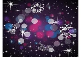 Black Gradient Stars Design